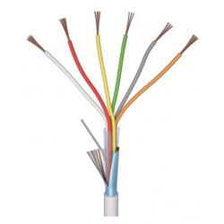 Câble alarme 6x0.22mm 200m