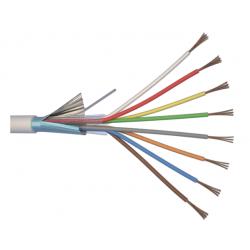 Câble alarme 8x0.22mm 100m