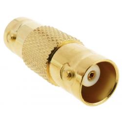 BNC Kupplung Gold