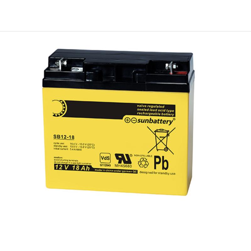 Batterie 12V-18Ah VdS