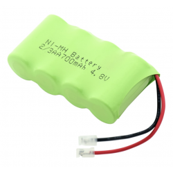 Bloc batterie Ni-MH 2/3AA 700mAh 4.8V