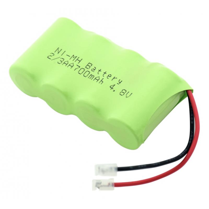 Batterie-Pack Ni-MH 2/3AA 700mAh 4.8V