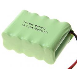 Bloc batterie Ni-MH AA 1800mAh 12V